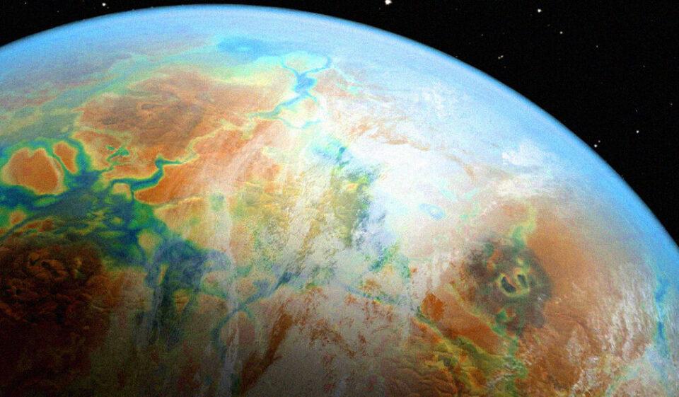 Астрономы обнаружили облака на далекой экзопланете