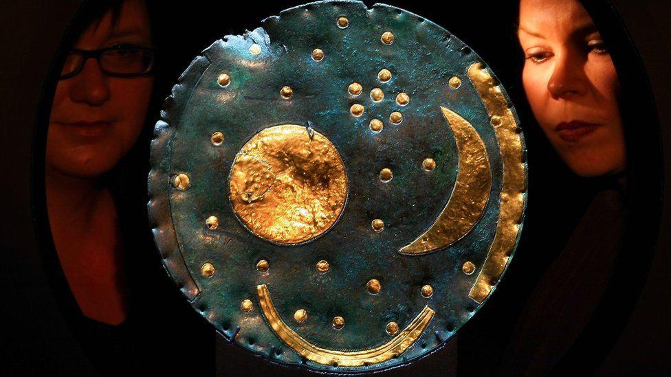 В Британском музее покажут небесный диск Небра