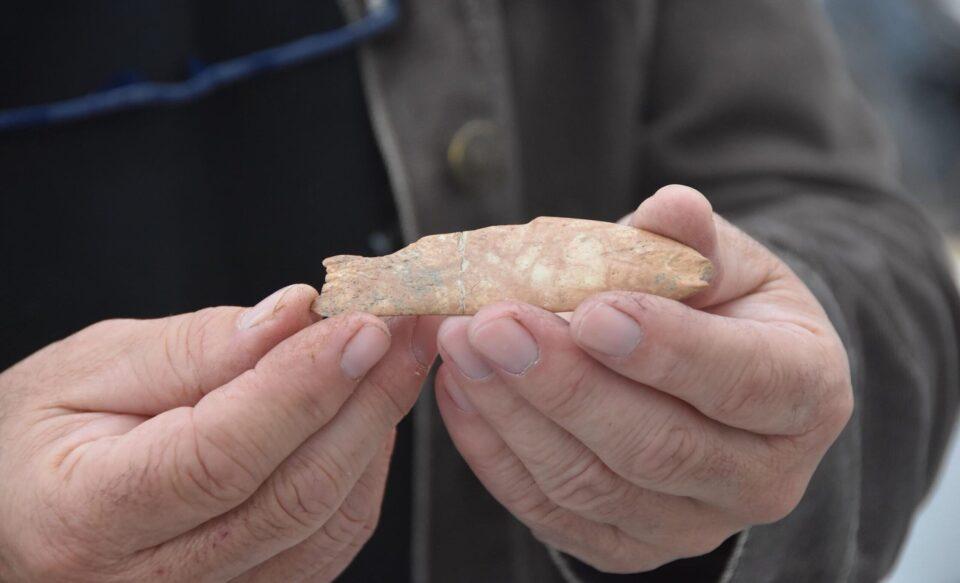 Турецкие археологи нашли древний инструмент в форме рыбы