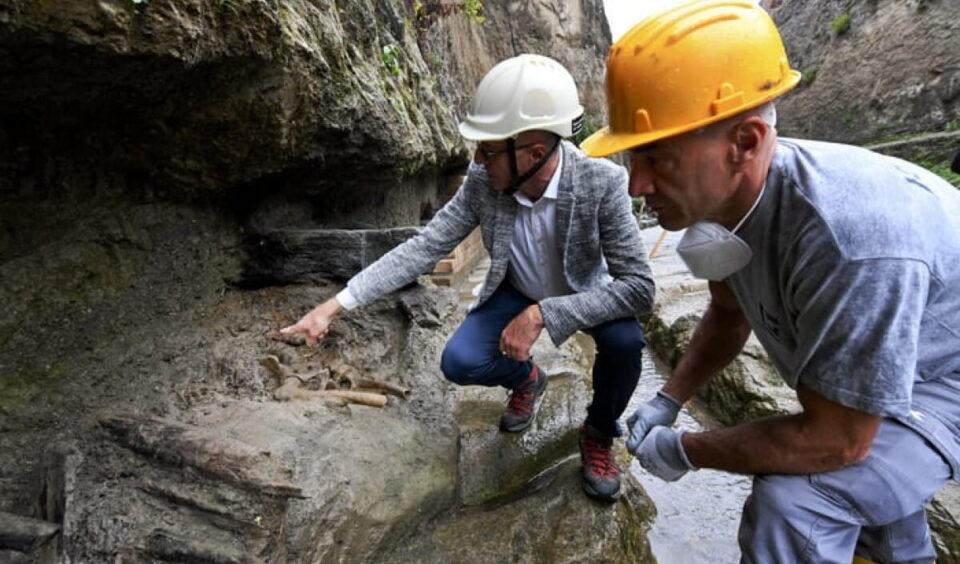 Археологи нашли останки мужчины, убегавшего от извержения Везувия