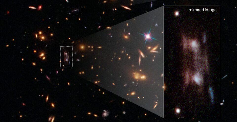 Телескоп «Хаббл» помог разгадать загадку «двойной» галактики