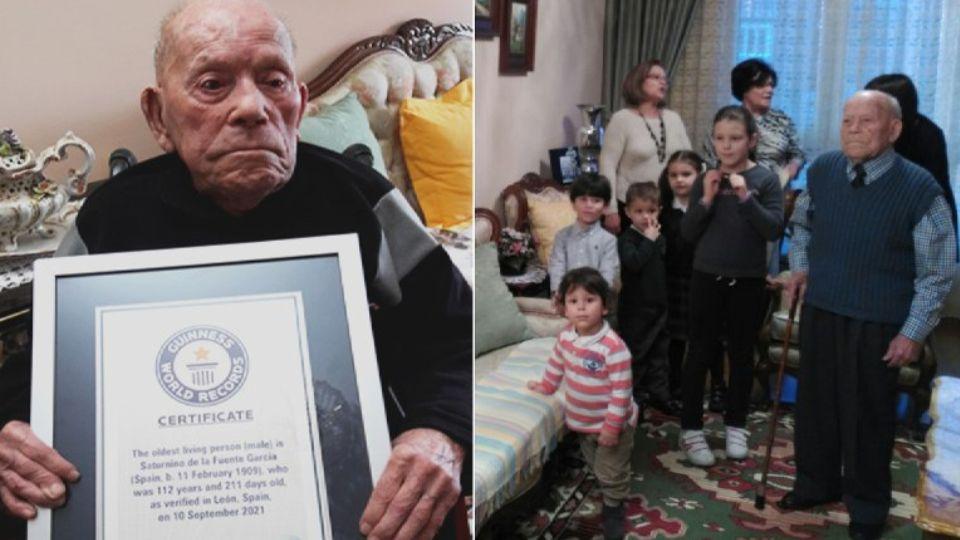 Самый старый мужчина на Земле раскрыл секрет своего долголетия