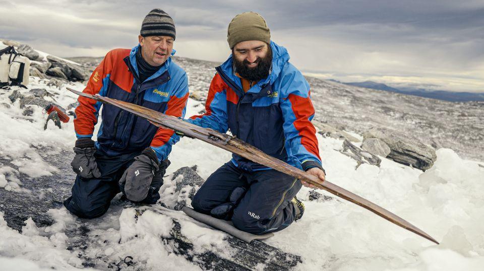 В Норвегии археологи нашли лыжи возрастом 1300 лет