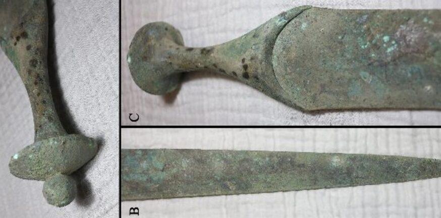 Археологи обнаружили на Майорке древний бронзовый меч
