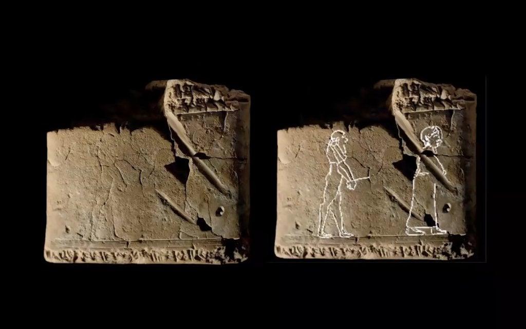 В Британии нашли табличку с призраком возрастом 3500 лет