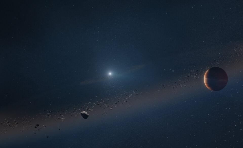 Обнаружена первая планета, пережившая смерть своей звезды