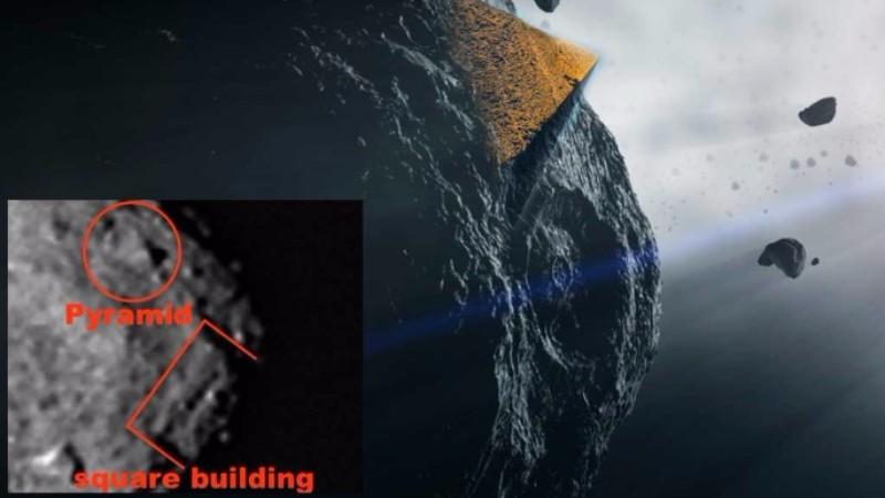 NASA обнаружило на астероиде Бенну пирамиду