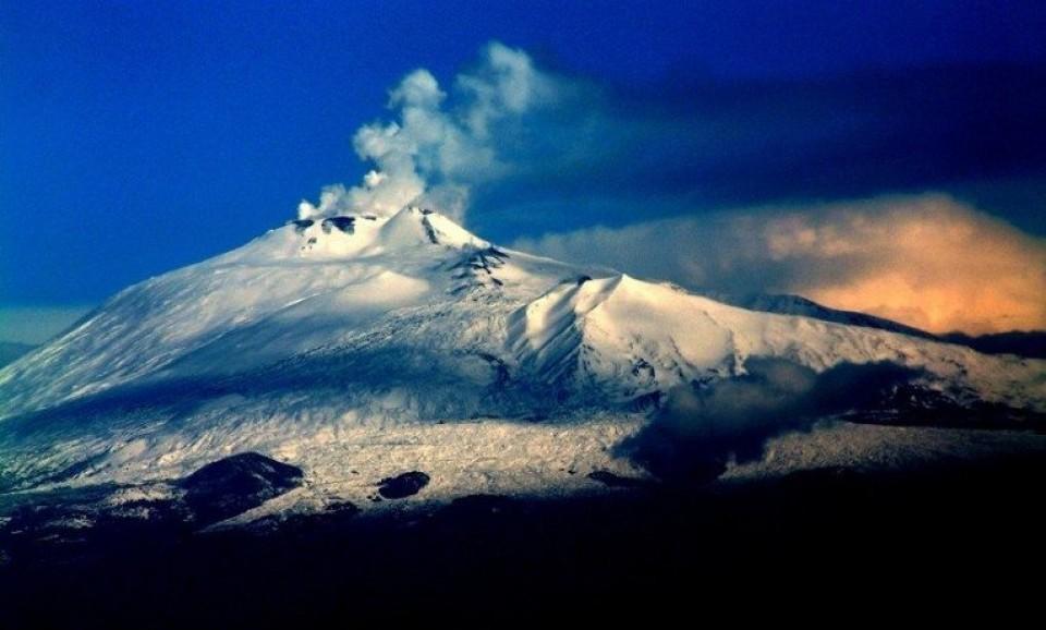 В Италии НЛО залетел в кратер вулкана Этна