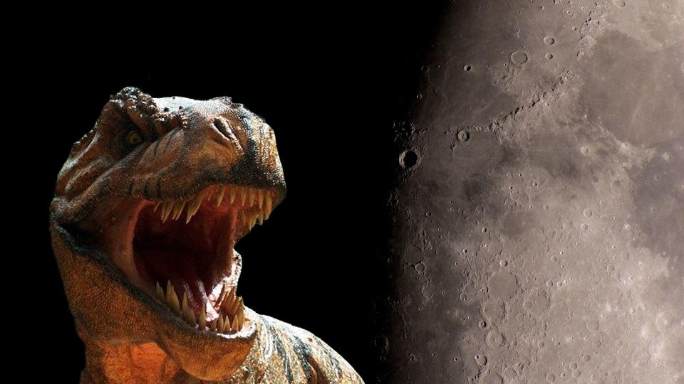 Журналист и геофизик уверены, что на Луне есть кости динозавров