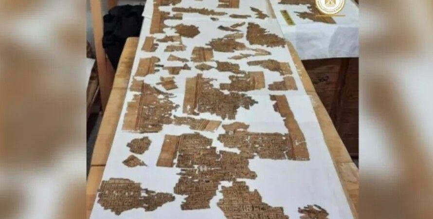 В Египте обнаружили свиток «Книги мертвых», длиной около четырех метров