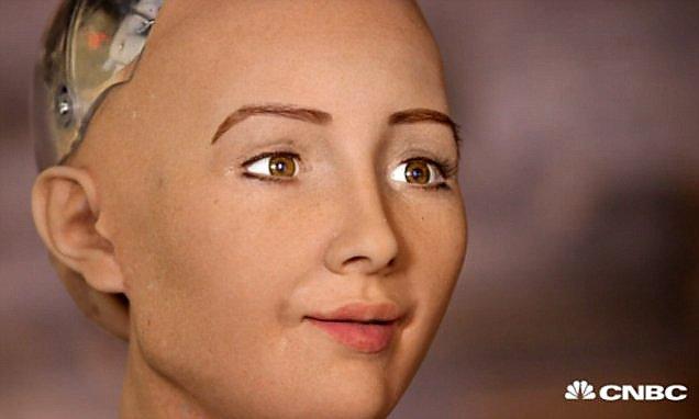 Робот-гуманоид София не скрывает желания уничтожить всех людей