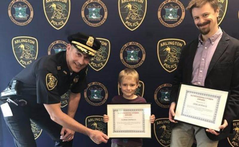 В США 6-летний мальчик получил звание почетного жителя