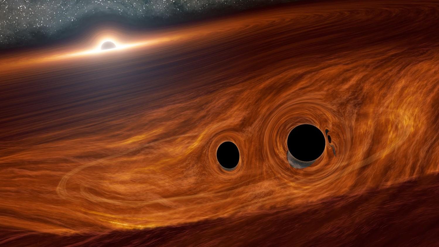 Молодые черные дыры нарушают законы физики, ученые в недоумении