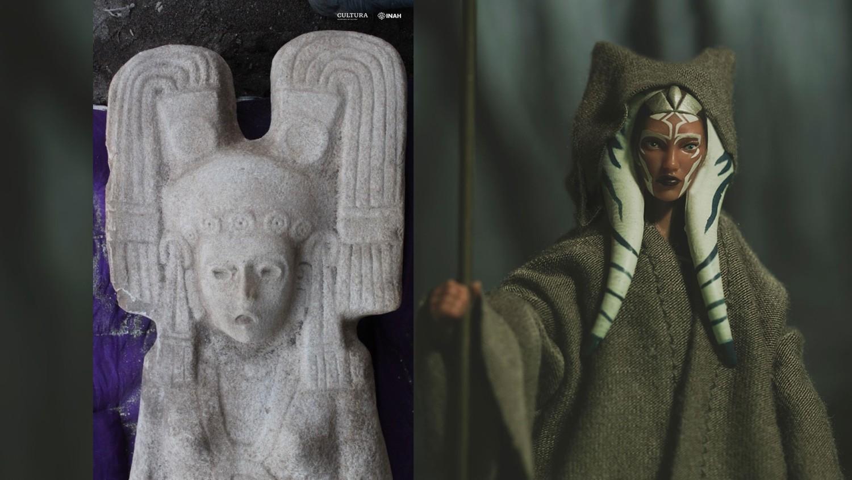 В Мексике обнаружили древнюю статую, похожую на персонажа из «Звездных войн»