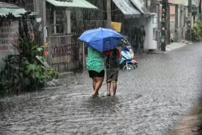 Грузия пострадала от мощных ливней и сильного града