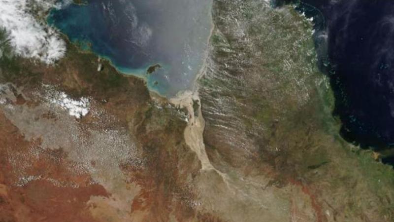В Австралии образовалась мегарека шириной 60 км
