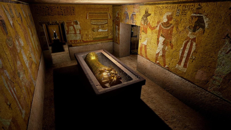 В гробнице Тутанхамона начались поиски тайных комнат