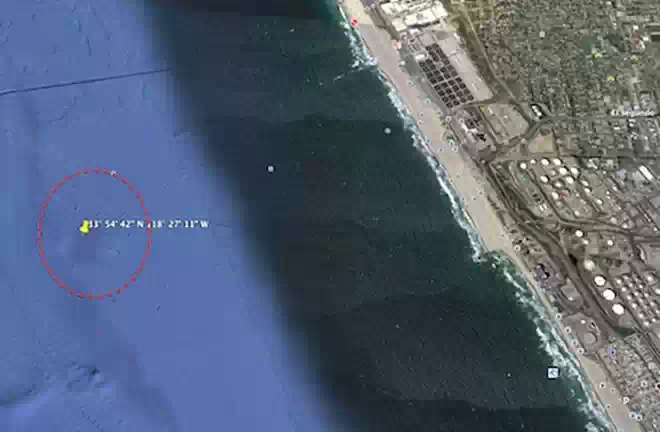 Необычные подводные структуры найдены у берегов Санта Моники, Калифорния