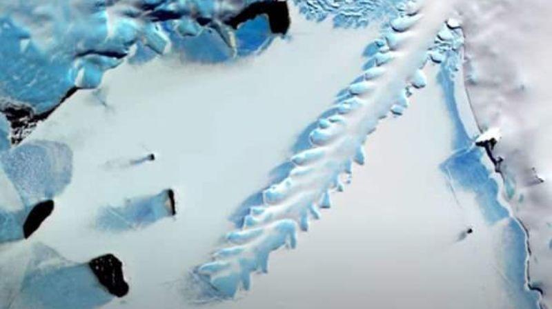 Странная находка в Антарктиде сбила с толку исследователей НАСА