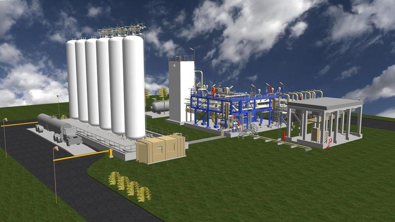 Установки по сжижению природного газа на основе дроссельных циклов