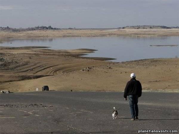 В Калифорнии объявлено чрезвычайное положение из-за засухи