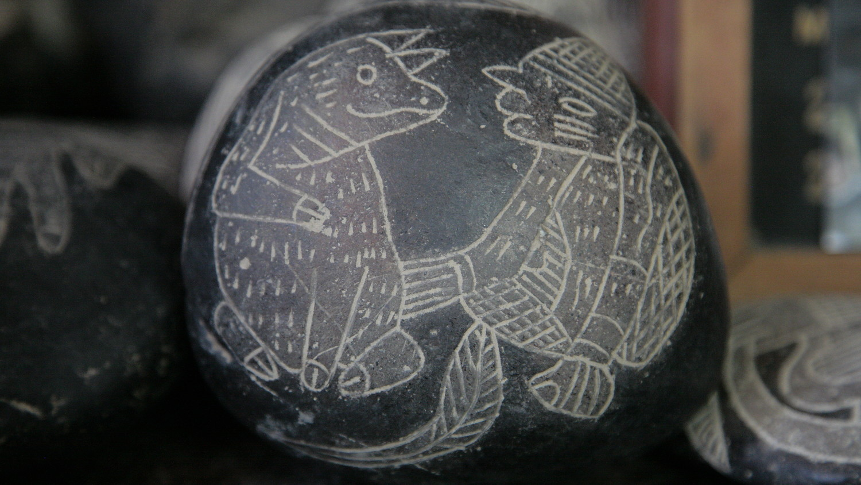 На камнях Ики изображена неизвестная цивилизация