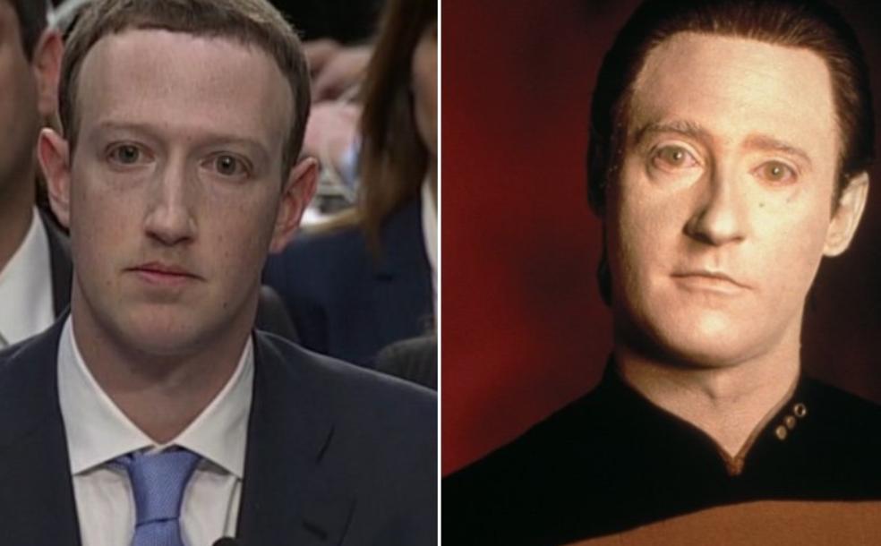 Пользователи сети считает, что Марк Цукенберг робот