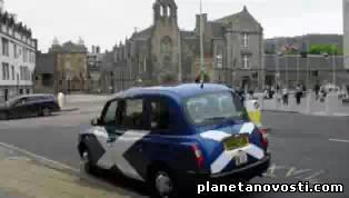 Преступник ограбил банк и уехал с места преступления на такси