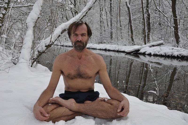 Человек, не боящийся ледяного холода