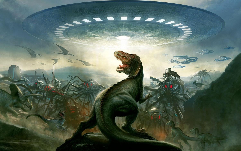Почему инопланетяне истребили динозавров