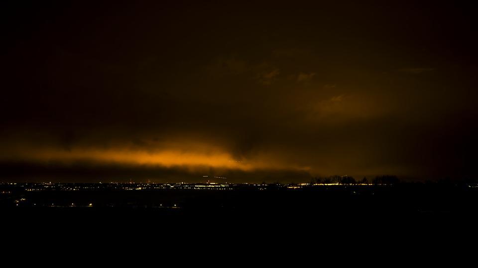 Над Балтимором запечатлели «инопланетные огни»