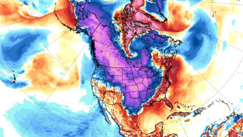 Северную Америку, Европу и Азию накроют невероятно сильные морозы