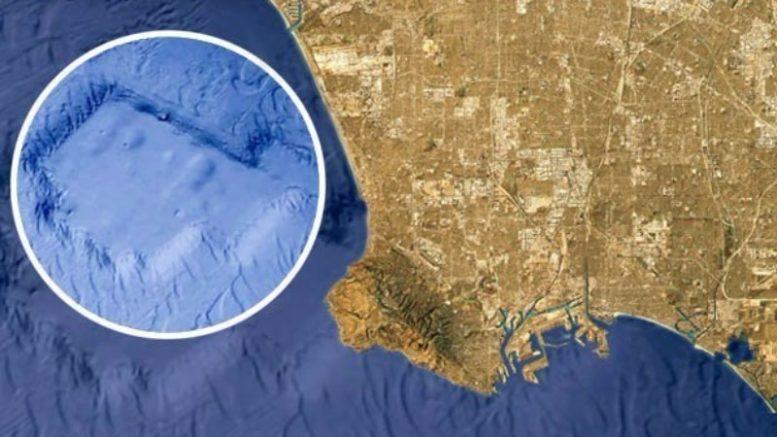 Атлантида у берегов Калифорнии: исследователь нашел затонувший город
