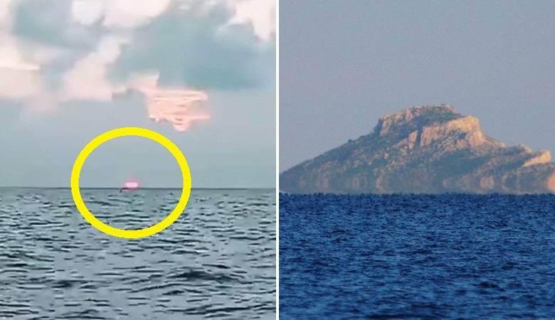 Житель Индии заснял солнце, когда оно садилось не на западе, а на востоке