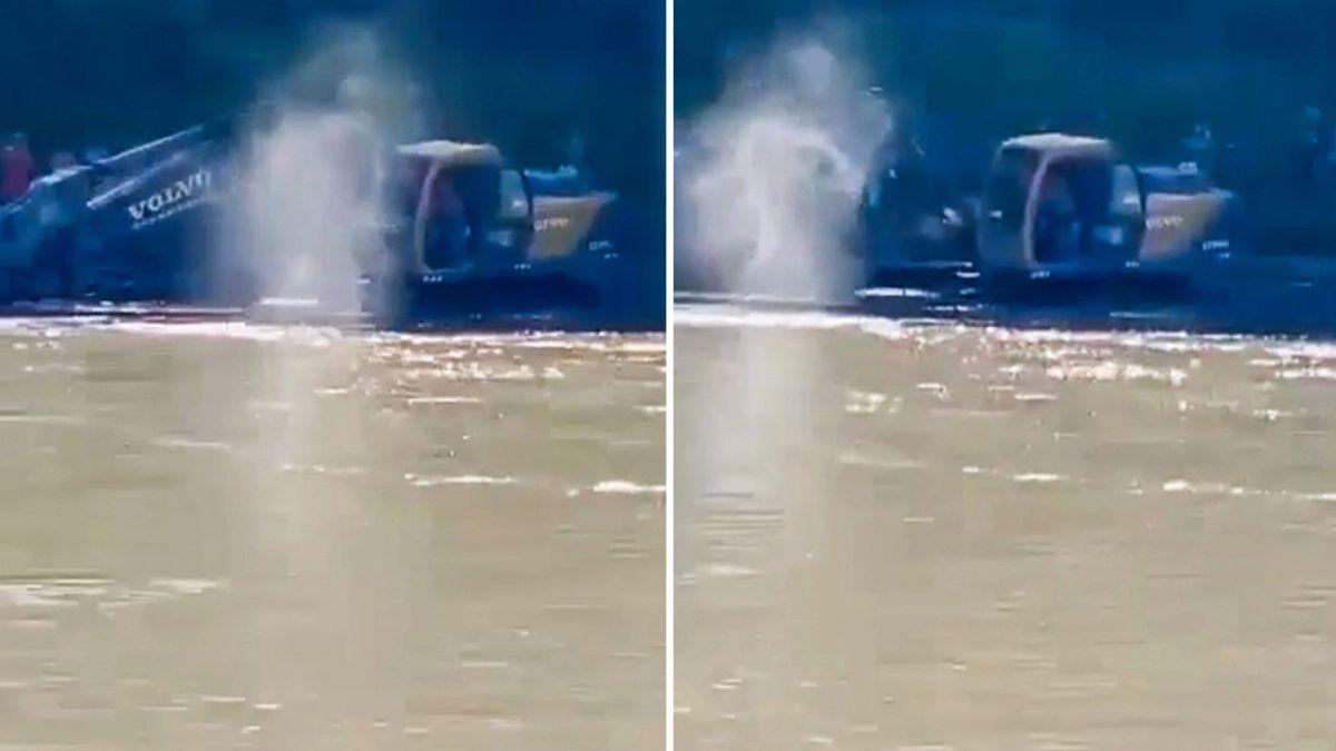 Призрак погибшего парня прошел по воде: очевидица сняла его на видео