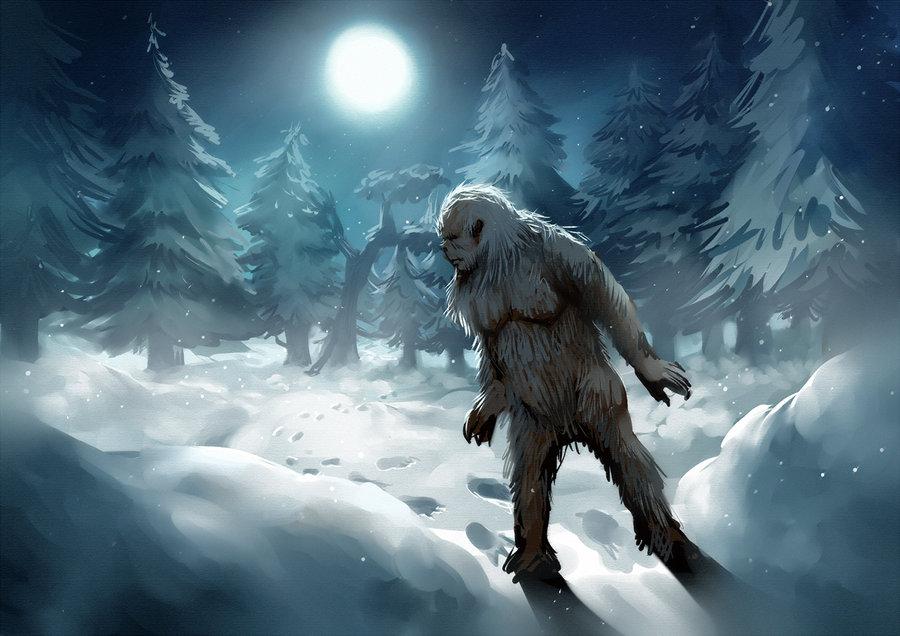 Снежный человек оказался обычным козлом