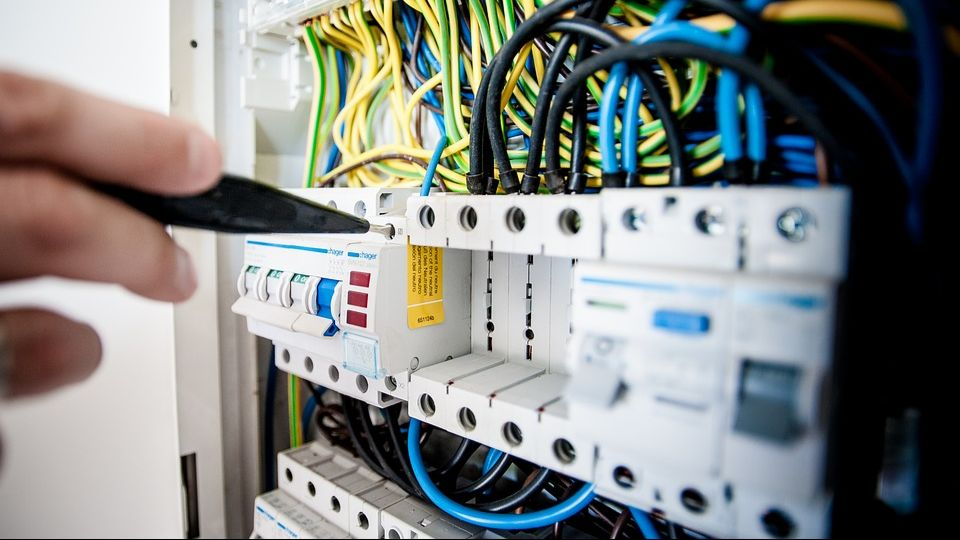 Распределительный щит для домашней электропроводки