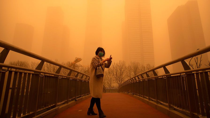 Все гораздо хуже: ученые выяснили, чем на самом деле была «песчаная буря», накрывшая Пекин