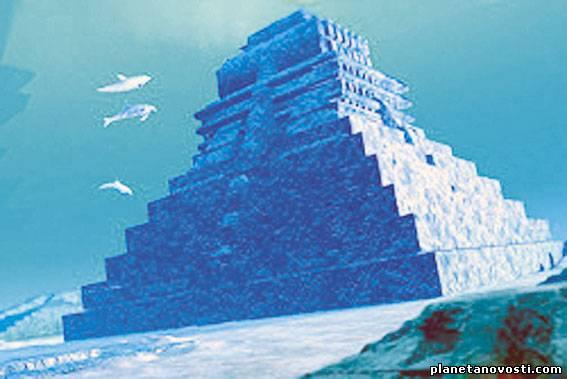 Кто построил подводные пирамиды?
