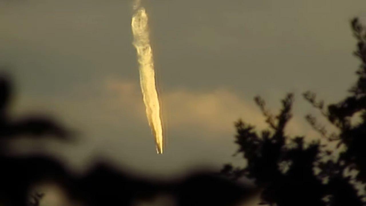 ВВС США сбили в небе над Луизианой НЛО