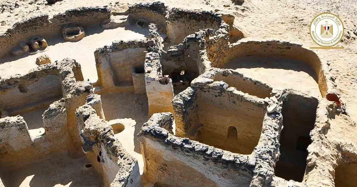 В Египте обнаружили развалины монастыря с библейскими надписями