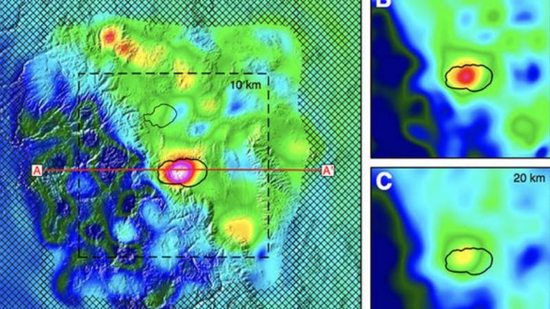Калифорния располагается над огромным озером магмы