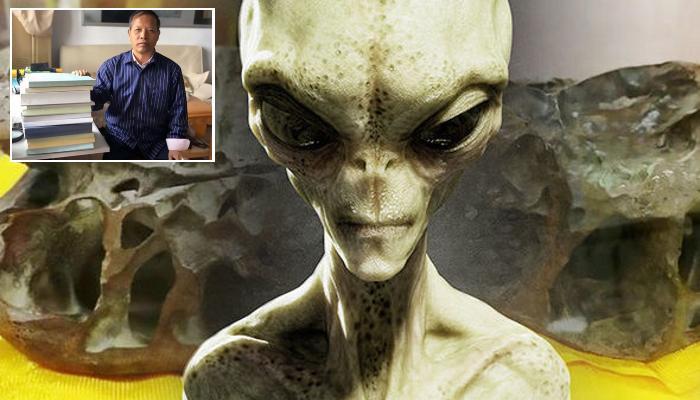 Череп инопланетянина диаметром 16 см: эксперт по НЛО показал настоящую голову пришельца
