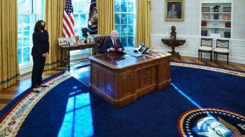 В Овальном кабинете Джо Байдена находится внеземной объект 1972 года
