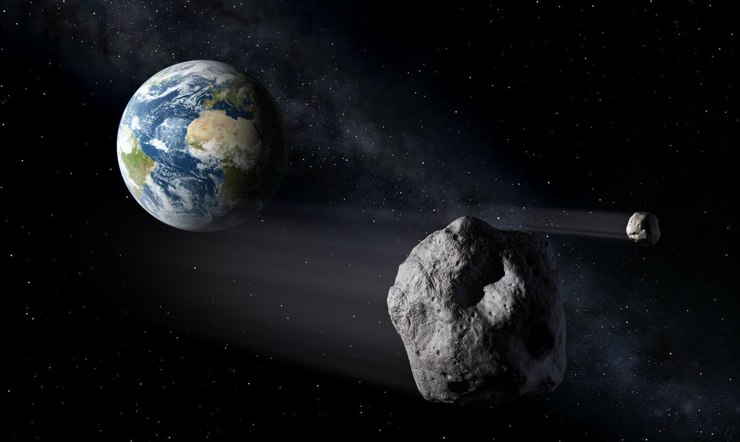К Земле летит астероид больше Челябинского