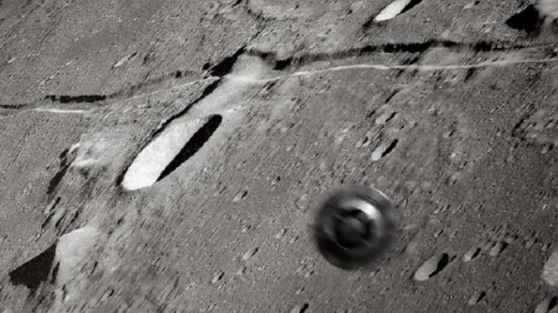 На Луне обнаружили колесо