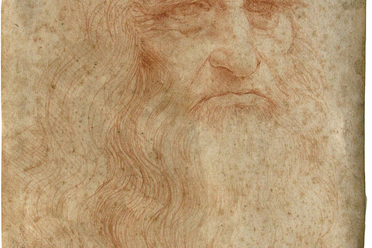 Ученые пытаются сохранить автопортрет Леонардо да Винчи
