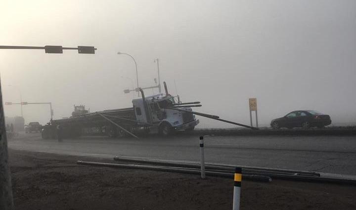 На канадской дороге ожила сцена из фильма «Пункт назначения»