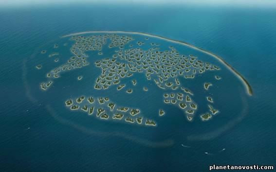 Искусственные острова в Дубае будут иметь собственный климат-контроль