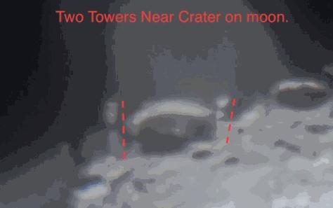 Две башни на Луне нашел астроном — любитель.